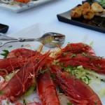 sontuosi banchetti di pesce, carne e verdure