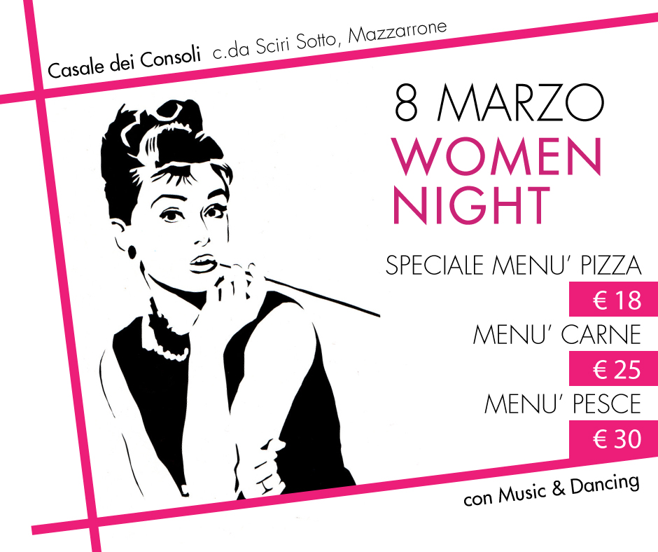 8-marzo-women-night